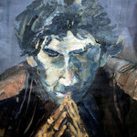 portret acryl 70x100 VERKOCHT