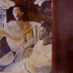 SECRET 70x100 oil on canvas
