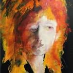 Someone's Sister olieverf op canvas 70x100cm - VERKOCHT