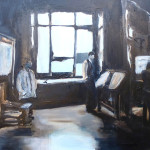 architecten bureau 2 60x80 oil on canvas