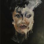 De Actrice olieverf op canvas 70x100cm