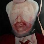 Monoloog Interieur4 70x100 olieverf op canvas